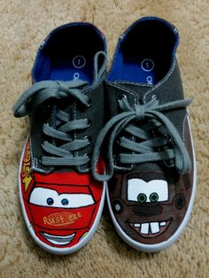 c8984c481c54 Cars Inspired KIDS SHOES Having A Baby Boy