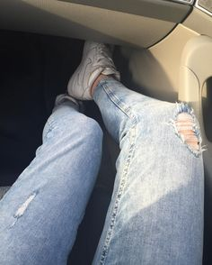 #legs #good #girl #fit #f4f #s4s #like4like #jeans #shoes #white by twoyearsagoo