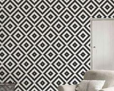 Self Adhesive Wallpaper Geometric, Self-Adhesive Removable Wallpaper, Self Adhesive Wall Stickers, Self-Adhesive Wallpaper Lattice, C054