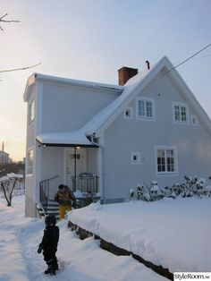 putsad fasad,fasadrenovering,ny fasad,hus