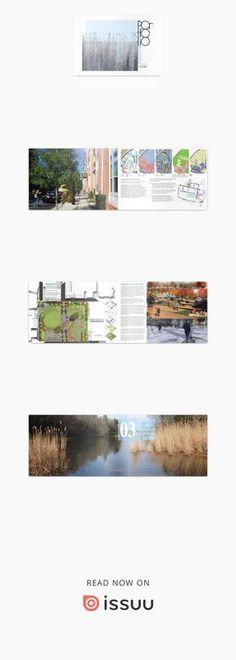 Undergraduate Landscape Architecture Portfolio 2017