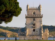 https://flic.kr/p/2BU2Hg | BELÉM TOWER, LISBON | Torre de Belém (Belém Tower), built in 1521 in the Portuguese late Gothic style, the Manueline. This elegant masterpiece has become a symbol of Lisbon and a memorial to the Portuguese power during the Golden Age of the Discoveries   See large: farm2.static.flickr.com/1335/1062585709_5681b88e59_b.jpg