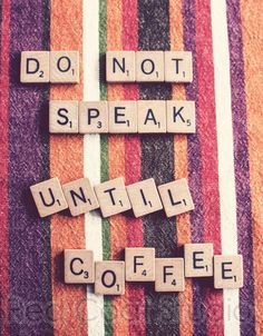 Coffee Quote Word Art Photography by RedCoatStudio on Etsy, $20.00