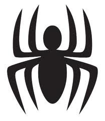 Spiderman Symbol for cupcake topper - Visit to grab an amazing super hero shirt now on sale!
