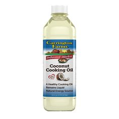 Carrington Farms Coconut Cooking Oil - Case of 6 - 16 fl oz.