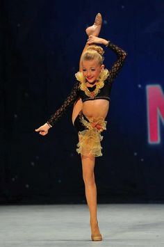 Day 1 (part 1) - Favourite Little Dancer Brynn Rumfallo  She's so flexible and is graceful in her performances. I don't think there's a solo that she's done that I haven't loved.