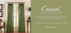 Curtainworks.com - Curtains, Drapes, Valances, Hardware For Your Window