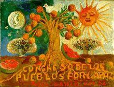 'Congrès des peuples pour la paix', 1952 de Frida Kahlo (1907-1954, Mexico)