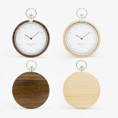 Hong Kong denizens Jeremy and Baptist Guedez in partnership with their designer friend Thomas Letourneux create the newly designed Memento Pocket Watches.