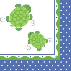 Turtle Luncheon Napkins by Beau-coup