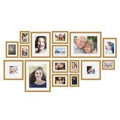 Fotomuur I - Essential - Bruin - 16 Fotokaders