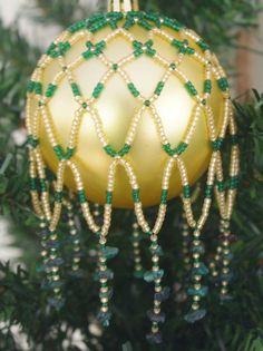 Genuine Emerald Handcrafted Gemstone Ornament Drape | DancingWindDesigns - Seasonal on ArtFire