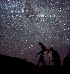 dreams and faith...