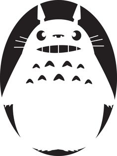 Photo of Totoro Halloween Stencils, Pumkin Carving Stencils, Cute Pumpkin Carving, Halloween Labels, Pumpkin Stencil, Vintage Halloween, Pumpkin Carvings, Halloween Party, Halloween Quotes