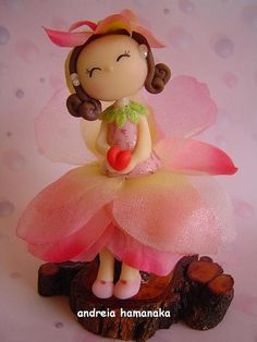 *SORRY, information in foreign language can not read ~ 11.2005- Ninfa Karina Flor by Andreia Akita, via Flickr