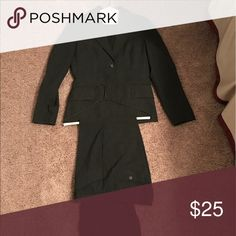 Selling this The Limited Gray Suit on Poshmark! My username is: sarahoagey. #shopmycloset #poshmark #fashion #shopping #style #forsale #The Limited #Jackets & Blazers
