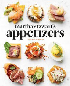 Martha Stewart Appetizers Cookbook