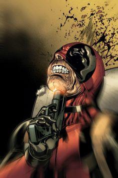 Deadpool by Paco Medina