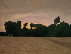 Felix Vallotton - Nabi Period - Landscape in Normandy
