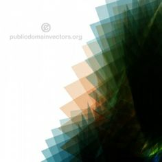 PublicDomainVectors.org-Background created with overlapping green vector shapes.