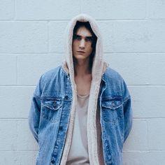Men's Premium Soft Sherpa Fleece Hoodie Jacket