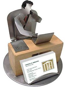 Male Lawyer Business Card Holder 45 Design