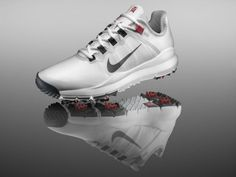 Golf Shoe - Shoe worn by Tiger Woods a restyled version of the Nike FREE  running shoe 80cc3b38817