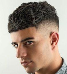 Wavy Edgar Hairstyle - Best Edgar Haircut Styles For Men: Cool Edgar Cut For Latino Guys #menshairstyles #menshair #menshaircuts #menshaircutideas #menshairstyletrends #mensfashion #mensstyle #fade #undercut #barbershop #barber Edgy Short Haircuts, Boy Haircuts Long, Short Hairstyles For Thick Hair, Black Men Hairstyles, Haircuts For Men, Easy Hairstyles, Short Hair Styles, Man's Hairstyle, Barber Hairstyles