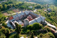 Holy Monastery of Koutloumousiou The Holy Mountain, Agricultural Land, Vernacular Architecture, Religious Architecture, The Monks, Thessaloniki, World Heritage Sites, Greece, Places To Visit