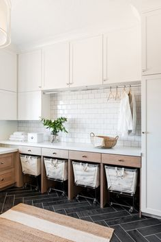 Mudroom Laundry Room, Laundry Room Layouts, Laundry Room Remodel, Laundry Decor, Laundry Room Organization, Laundry Bin, Small Laundry, Modern Laundry Rooms, Laundry Room Cabinets