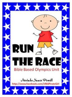The Bible directs all aspects of a Christian's life and that includes sports.  This packet is designed to be used during your study of the Olympics...