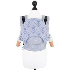 Baby size: Fidella Fusion baby carrier with buckles - Zen -sky- weave -embossed-