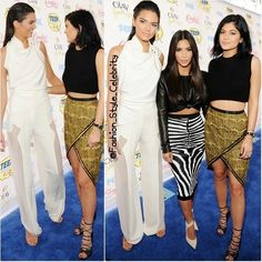 FASHION FROM TEEN CHOICE AWARDS 2014#kendalljenner #kimkardashian #kyliejenner #hollywood #actor #actress #teenchoice #teenchoice2014 #sandals #award #thewanted #fashion #style #celebrity #look #lookbook #beautiful #gorgeous #trend #trendy #chic #ootd #outfit #jumpsuit #stylish #accessories #heels #shoes #model #supermodel... - Celebrity Fashion