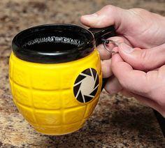 Lemon Grenade Mug | COOLSHITiBUY.COM