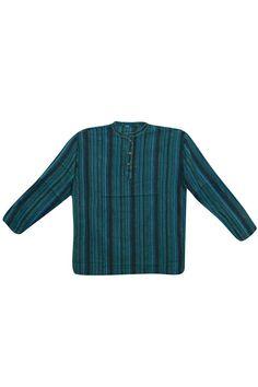 13399a565c Bohemian Style Men's Cotton Shirt Short Kurta Trendy Tunic | Etsy Indian  Men Fashion, Mens