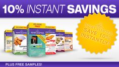 10% off Instant Savings in all New Chapter Products!