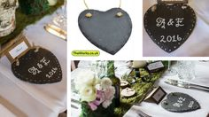 DIY Wedding Hearts - why pay more? See the results of one bride's DIY efforts. Favours, decorations and more...