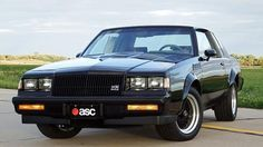 1987 Buick GNX (Grand National) Turbo V6, 1of 547 built by ASC/McLaren
