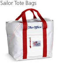 Sail Cloth  Tote Bags Embroidered with boat name
