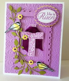 Stampin Up Easter He Is Risen