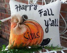 Pillgrims Turkey Fun Fall PillowsThanksgiving Holidays   Etsy Pumpkin Pillows, Fall Pillows, Throw Pillows, Accent Pillows, Outdoor Pillow Covers, Outdoor Cushions, Easter Pillows, Bunny Tail, Happy Fall Y'all
