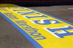 Qualify and run the Boston Marathon off of talent.