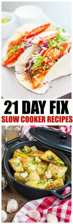21 Day Fix Slow Cooker recipes - crock pot to the Rescue! Your 21-Day Fix is easier than ever, Healthy dinner a constant struggle for families no more