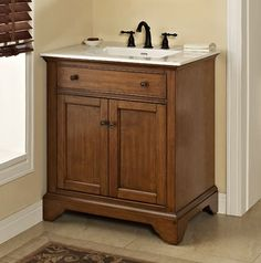 Photo On Charlottesville Vanity Vintage Black Fairmont Designs Fairmont Designs Basement bathroom with stream shower Pinterest Gray