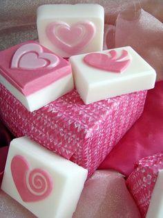 Adorables formas en jabón