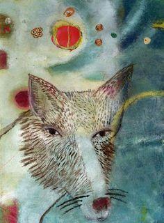 "Painting ""Fox"" ©Katherine Dunn/Apifera Farm"