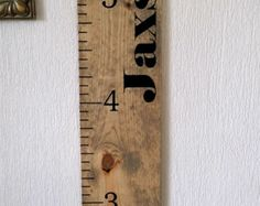 Wooden height chart by paolabrownshop. Explore more products on http://paolabrownshop.etsy.com