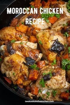 Oven Roasted Chicken, Roast Chicken Recipes, Dinner Party Recipes, Dinner Ideas, Cooking Recipes, Healthy Recipes, Delicious Recipes, Moroccan Chicken, Vegetarian Appetizers