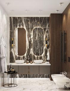 Bathroom ideas, family bathroom ideas will work for everyone, 28 free different ideas 1 Home Interior, Luxury Interior, Interior Livingroom, Bathroom Inspiration, Interior Inspiration, Vanity Design, Bathroom Design Luxury, House Design, Home Decor