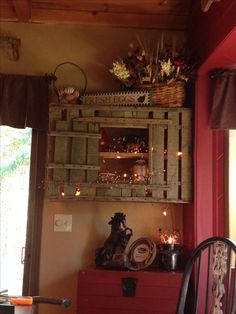 Previous Pinner Said: My Wooden Chicken Crate My Son Bought Me For Motheru0027s  Day All Hung Up And Lookin Cute! Sharon Campbell · Primitive Decorating  Ideas